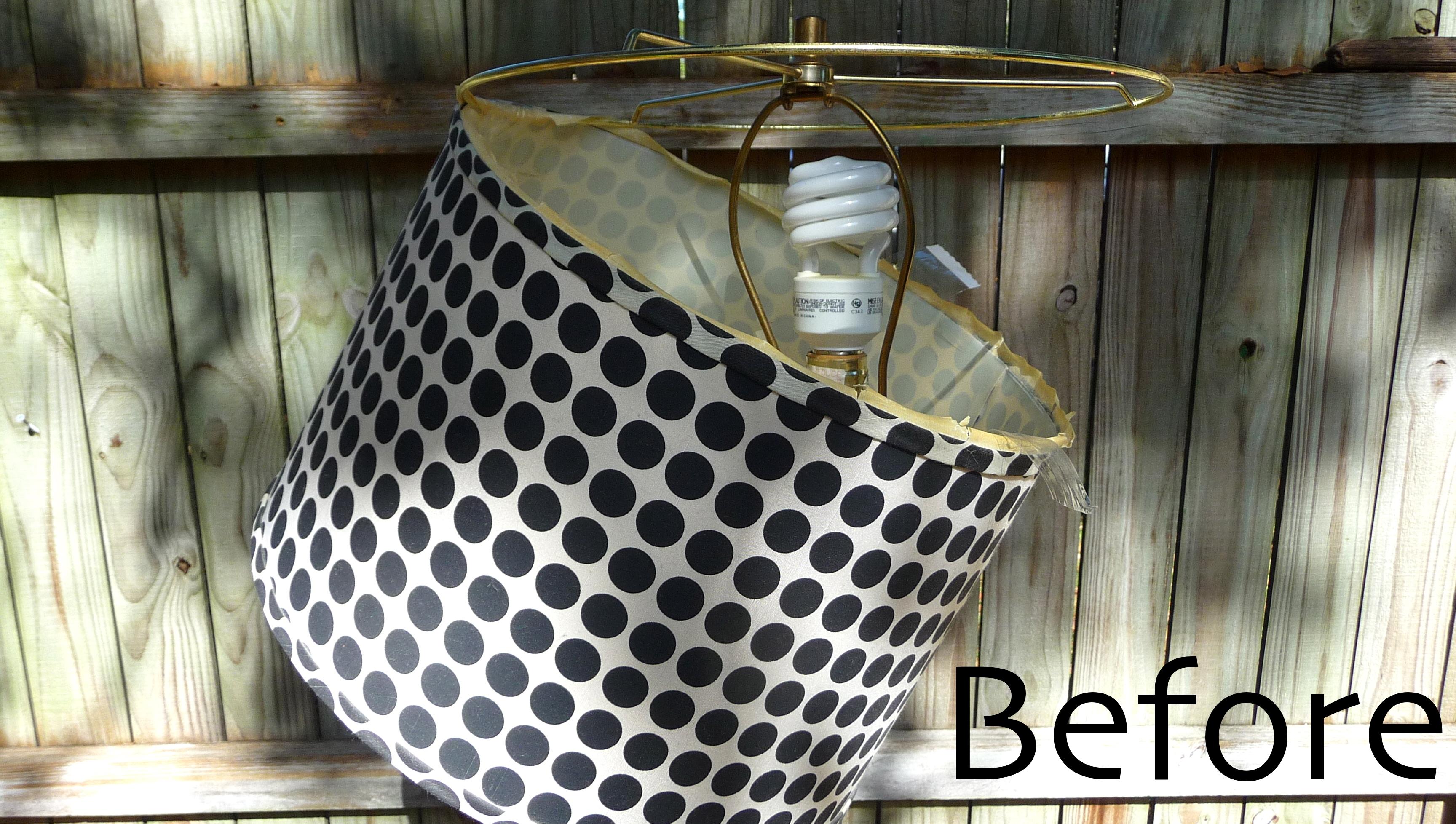 Diy garden burlap lamp shade craft organic lamp shade mozeypictures Gallery
