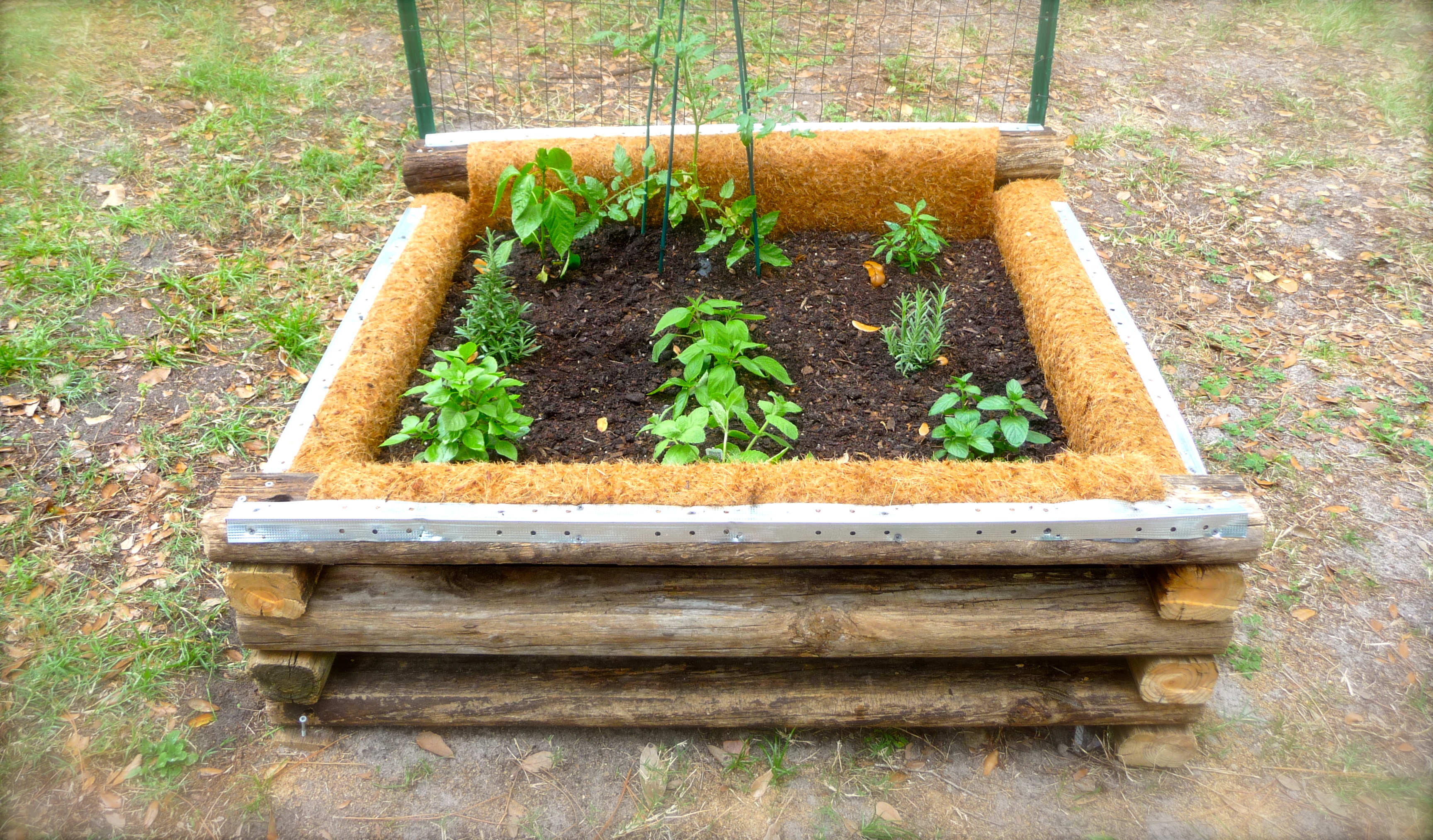 DIY Raised Garden Bed Craft Organic