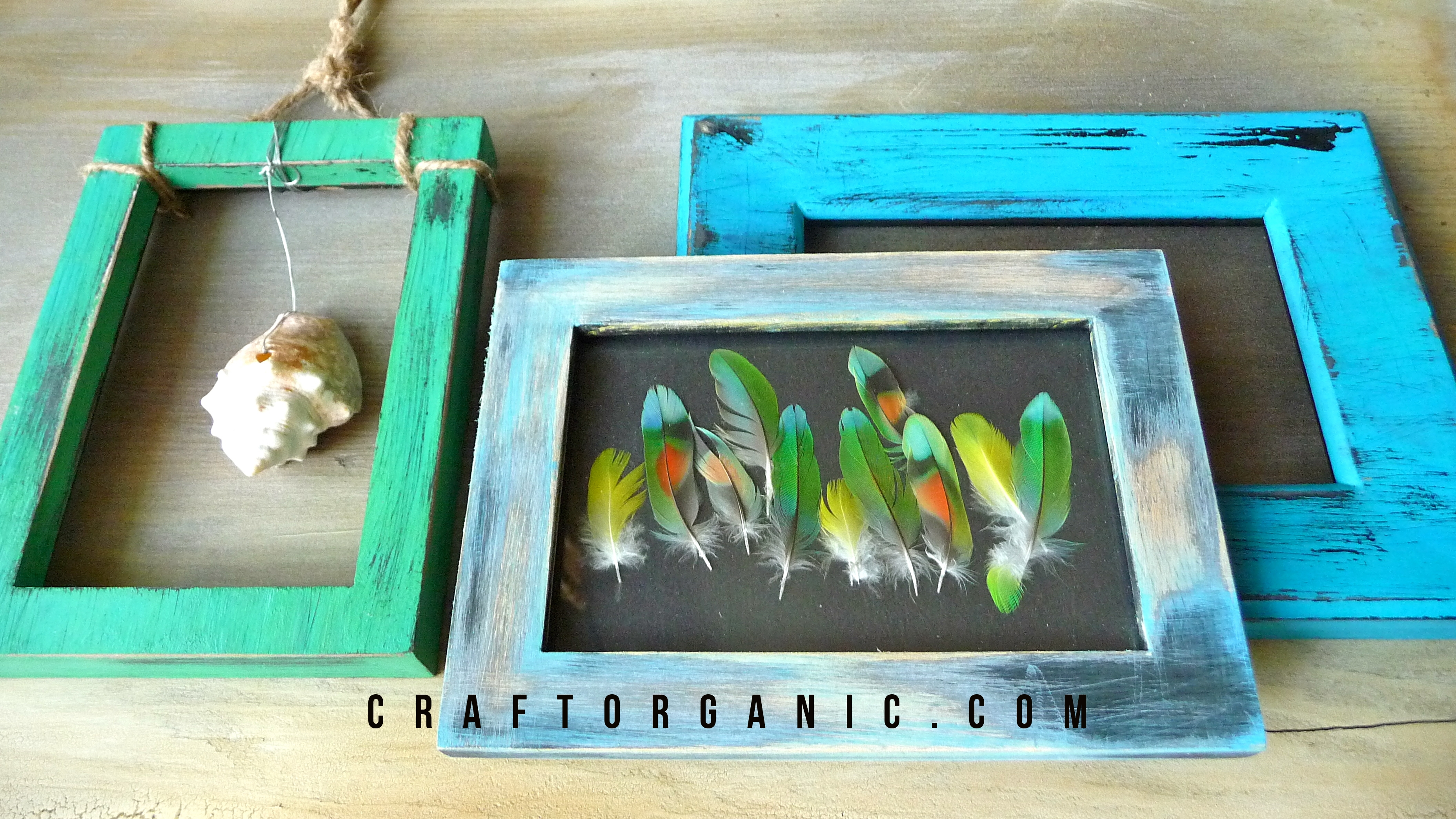 Distressed Beach-Style Decor - Craft Organic