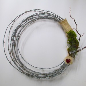 Simple Barbed Wire Wreath