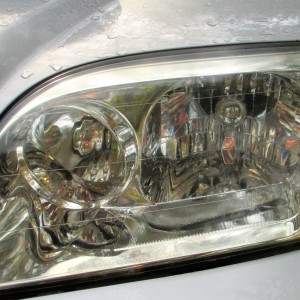 Homemade Headlight Cleaner